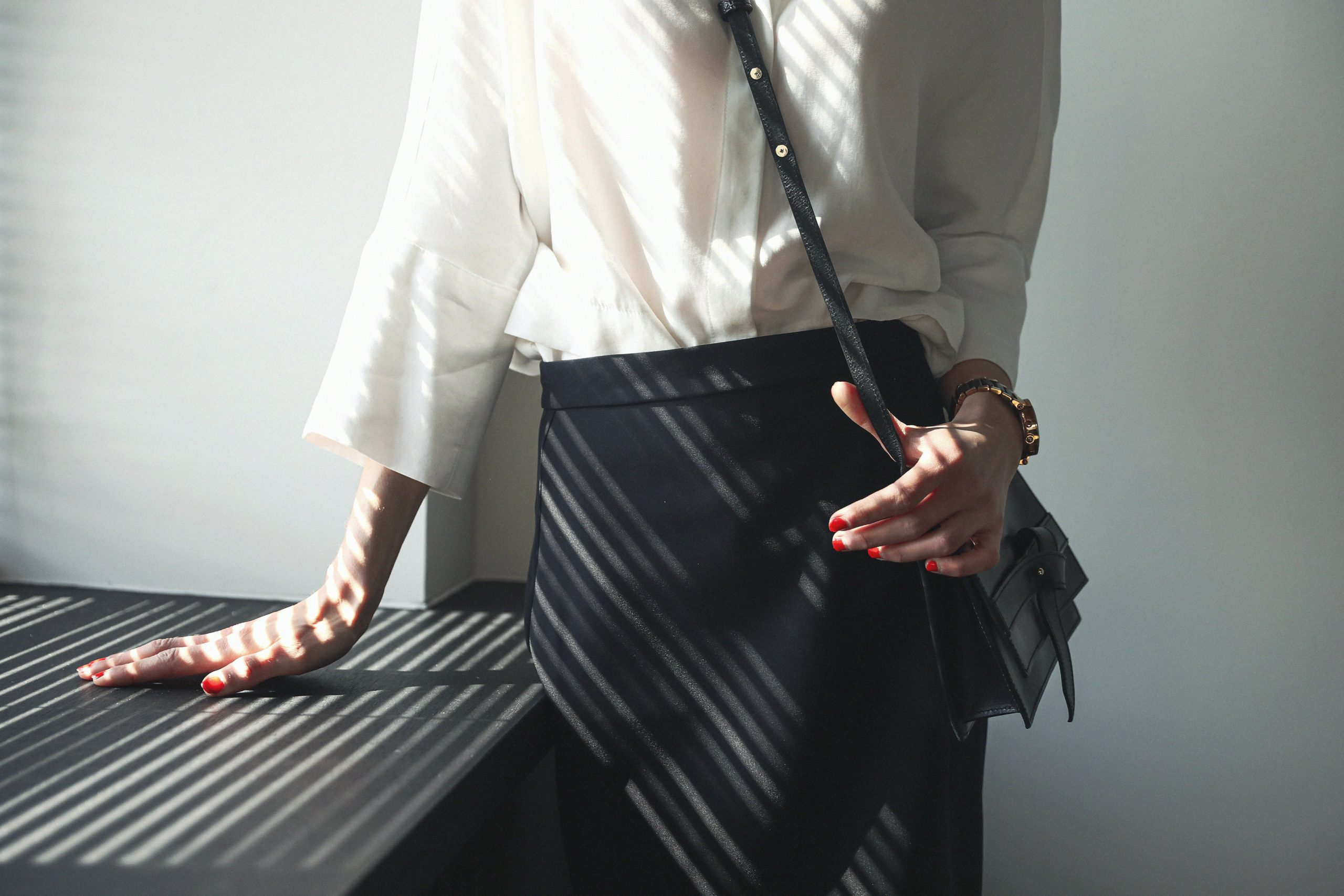 Negotiation outfit - LM Fashion Agency - women's business wear - The Raven Collective