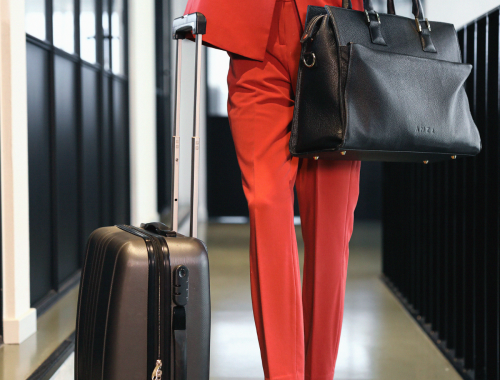 What to wear for a business trip - Business trip outfit - LM Fashion Agency