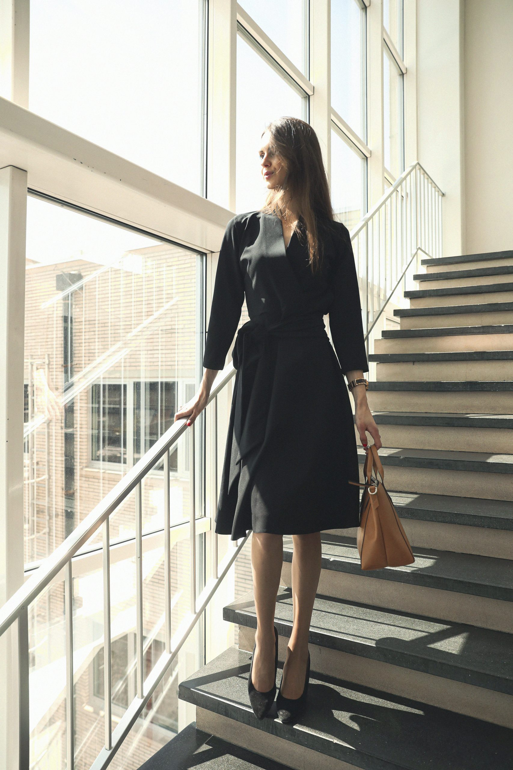 What to wear to a business conference - work outfit - LM Fashion Agency - The Raven Collective